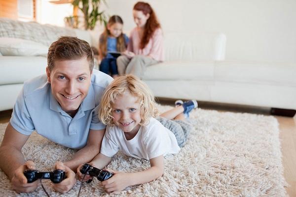 dad-girl-carpet-videoweb